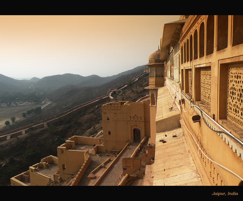 Ramparts of Amber Fort