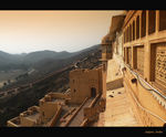 Title: Ramparts of Amber Fort
