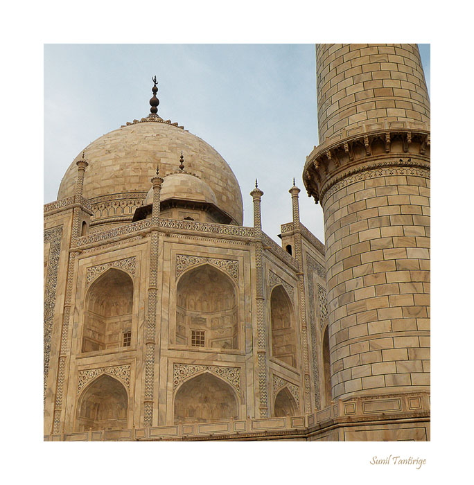 Taj Mahal - A closer look