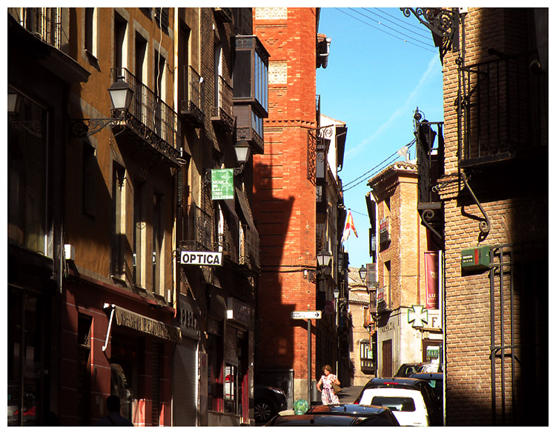 In the narrow streets of Toledo
