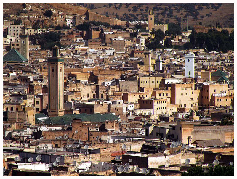 Medina in Fez - Unchanged for 1000 years