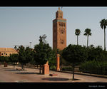 Title: The minaret of El Koutoubia