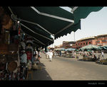 Title: In the Marrakech market