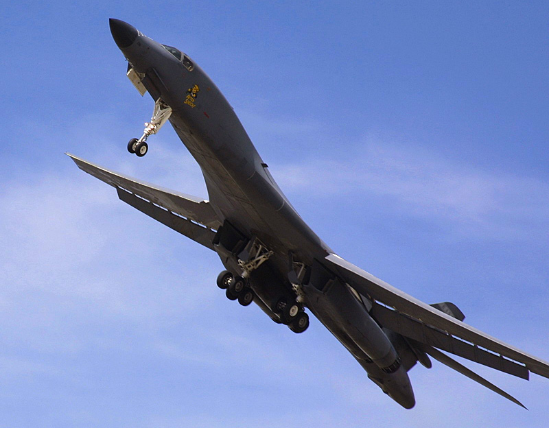 B1 Fly by