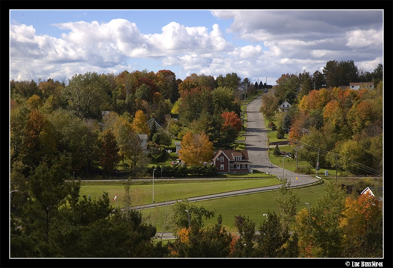 Coaticook Autumn colors