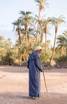Title: An Old man and a palm treePentax *ist DL