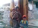 Title: A Kinnauri Mother with Her Children
