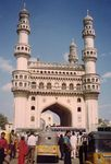 Title: Charminar during the Peak HourNikon RF10