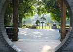 Title: tranquil spot in Foshan centre