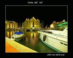 Title: Costa del Sol..Harbour at nightCanon EOS 30D