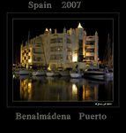 Title: The Harbour lights of SpainCanon 400D Rebel XTi