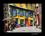 Title: .. the streets of Old Quebec...Canon EOS 30D