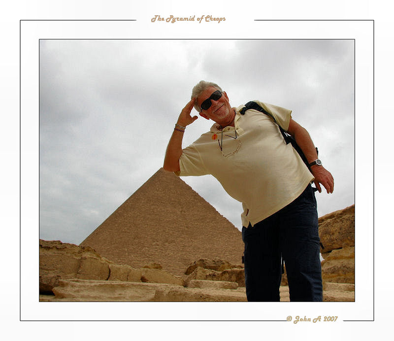 A Pyramid and on your own