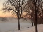 Title: Cold Enough to See the River's BreathHP Photosmart 945