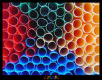 Title: United Colors of Straws