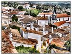 Title: A view of Obidos