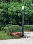 Title: The lamp post and the benchSony DSC-P30