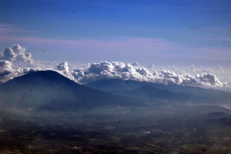 Mount .. at West Java