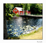 Title: House by lake