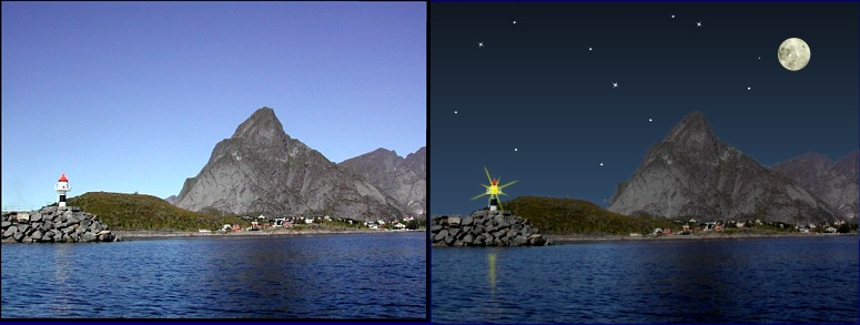 Night and Day in Lofoten