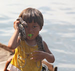 Title: boy with the snakeCanon 50D