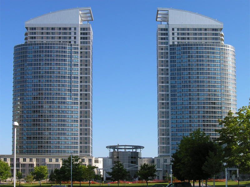 Mirror towers