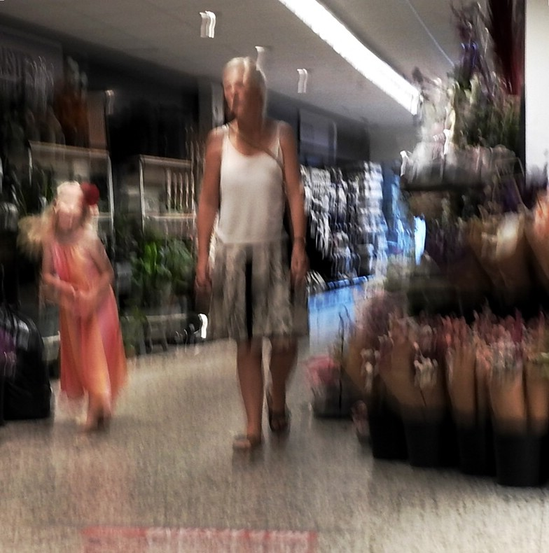 Supermarket Ghosts