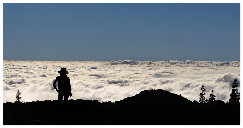 Far above the clouds