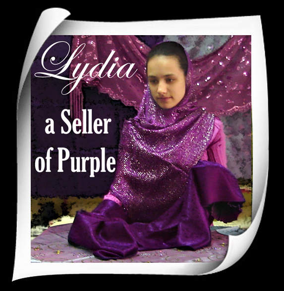 TrekLens | Lydia, A Seller of Purple Photo