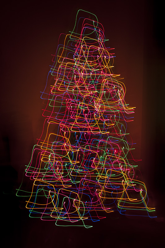 Holiday Lights in Motion