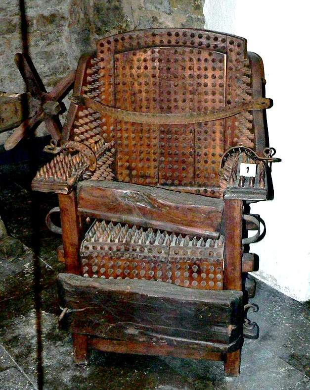 Torture Chair  c.a. 1300