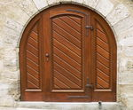 Title: Typical Rothenburg Door