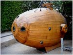 Title: Wooden (yellow) Submarine