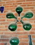 Title: Bottle decor in the wall
