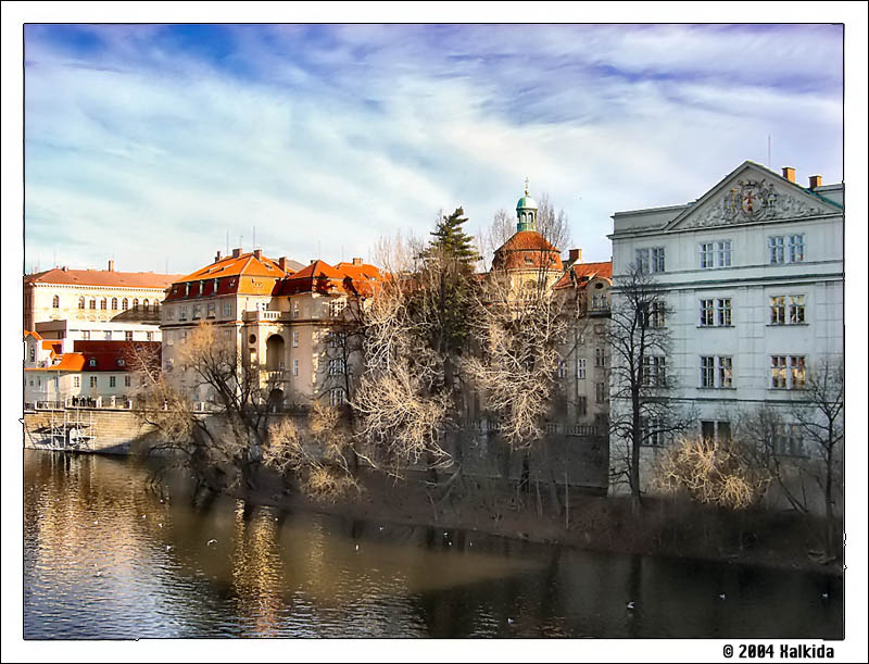 Prague - At the river side...