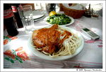 Title: Greek food - Rooster winy with spaggettiNikon D70