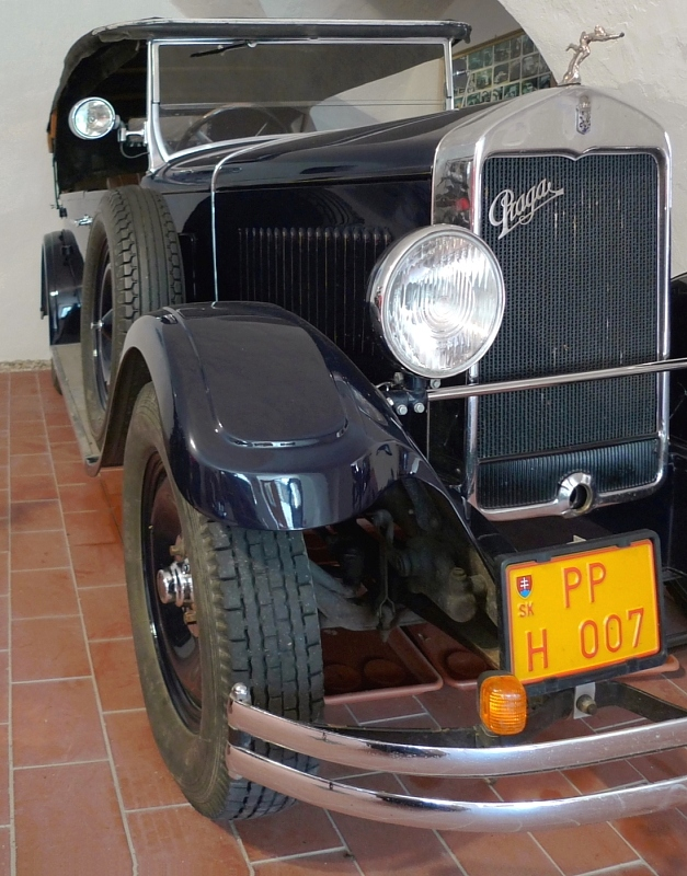 exposition of historical vehicles