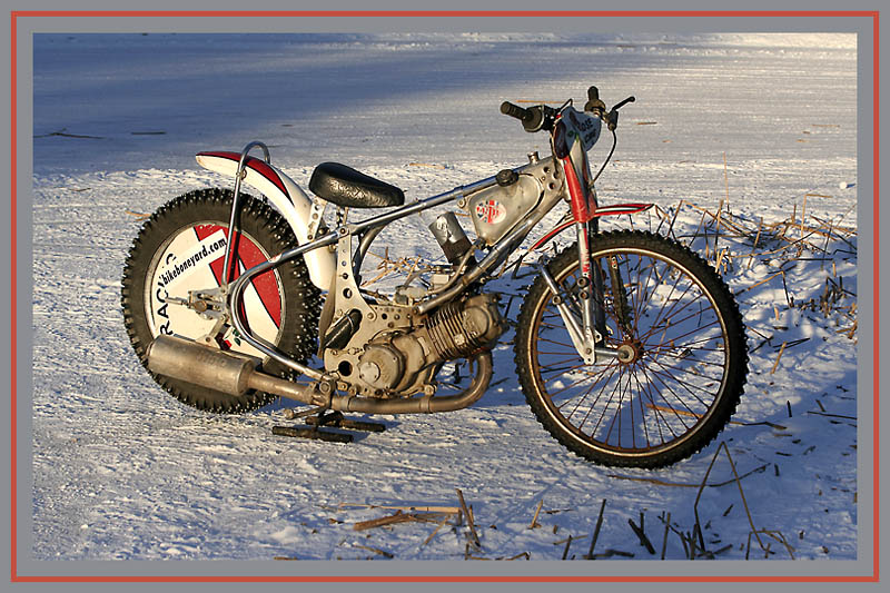 how to build a speedway bike