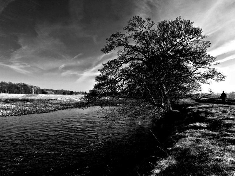 The river Ure...