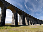 Title: Ribblehead viaduct detail..Olympus E1
