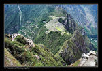 Title: Birds Eye View Machu Picchu