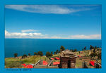 Title: Lake Titicaca from Taquile Island