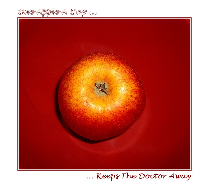 one apple a day...
