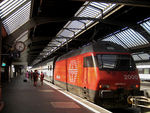 Title: Swiss Train