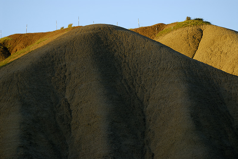 Clay mountains