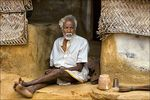 Title: Old grandfather