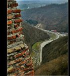 Title: Poienari Fortress - A View To The SouthCanon PowerShot S5 IS
