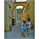 Title: The Streets of Sighisoara - VI -Canon PowerShot S5 IS