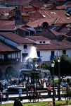 Title: The fountain and the roofsMinolta Maxxum 600si