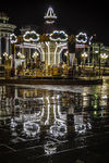 Title: carousel and reflectionNikon D5000